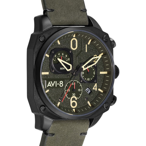 AVI-8 Hawker Hunter 4052-R1 Watch | Grey/Black