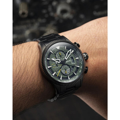 AVI-8 Hawker Hunter 4064-11 Watch | Green/Ionic Black