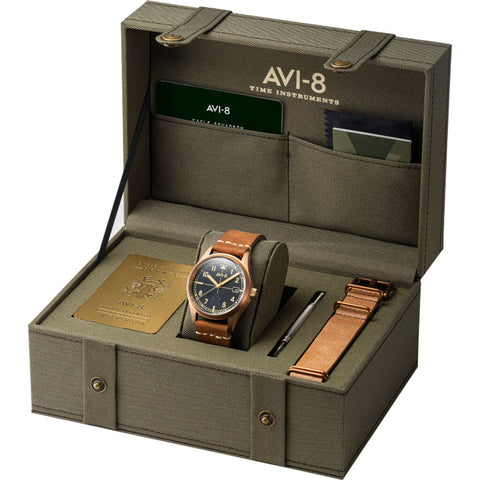 AVI-8 Flyboy Eagle Squadron 4071-01 Automatic Watch | Bronze