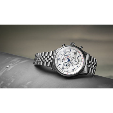 AVI-8 Flyboy AV-4076 Lafayette Chronograph Watch | Stainless Steel Bracelet