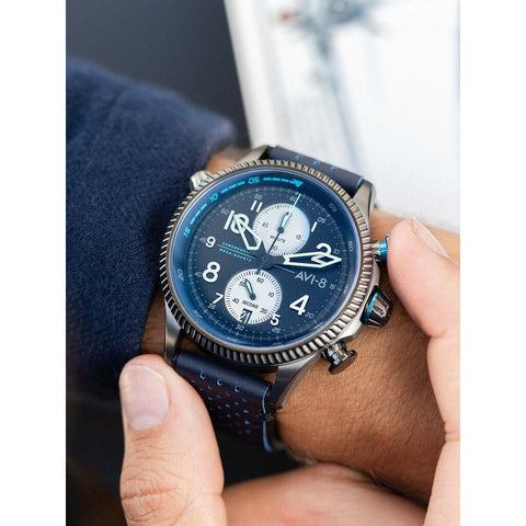 AVI-8 Hawker Hunter 4080-02 Watch | Black/Blue