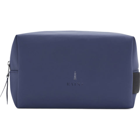 RAINS Waterproof Wash Bag | Blue 1558 02 Small