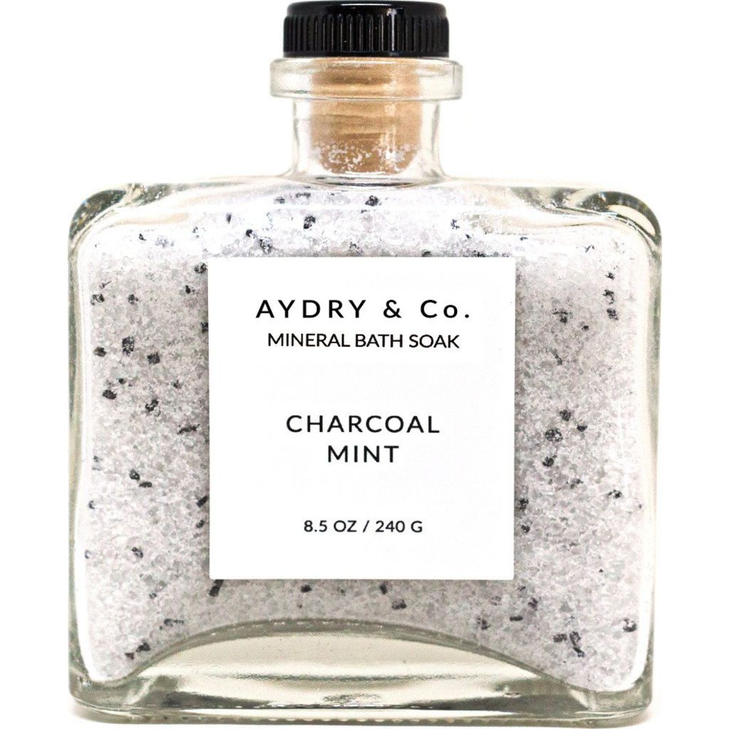 AYDRY & Co. Mineral Bath Soak | Charcoal Mint 8.5 oz
