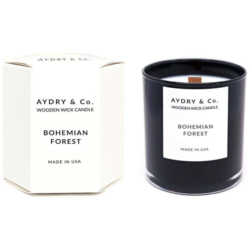 AYDRY & Co. Wooden Wick Candle | Bohemian Forest