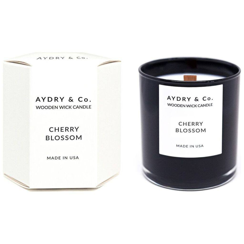 AYDRY & Co. Wooden Wick Candle | Cherry Blossom