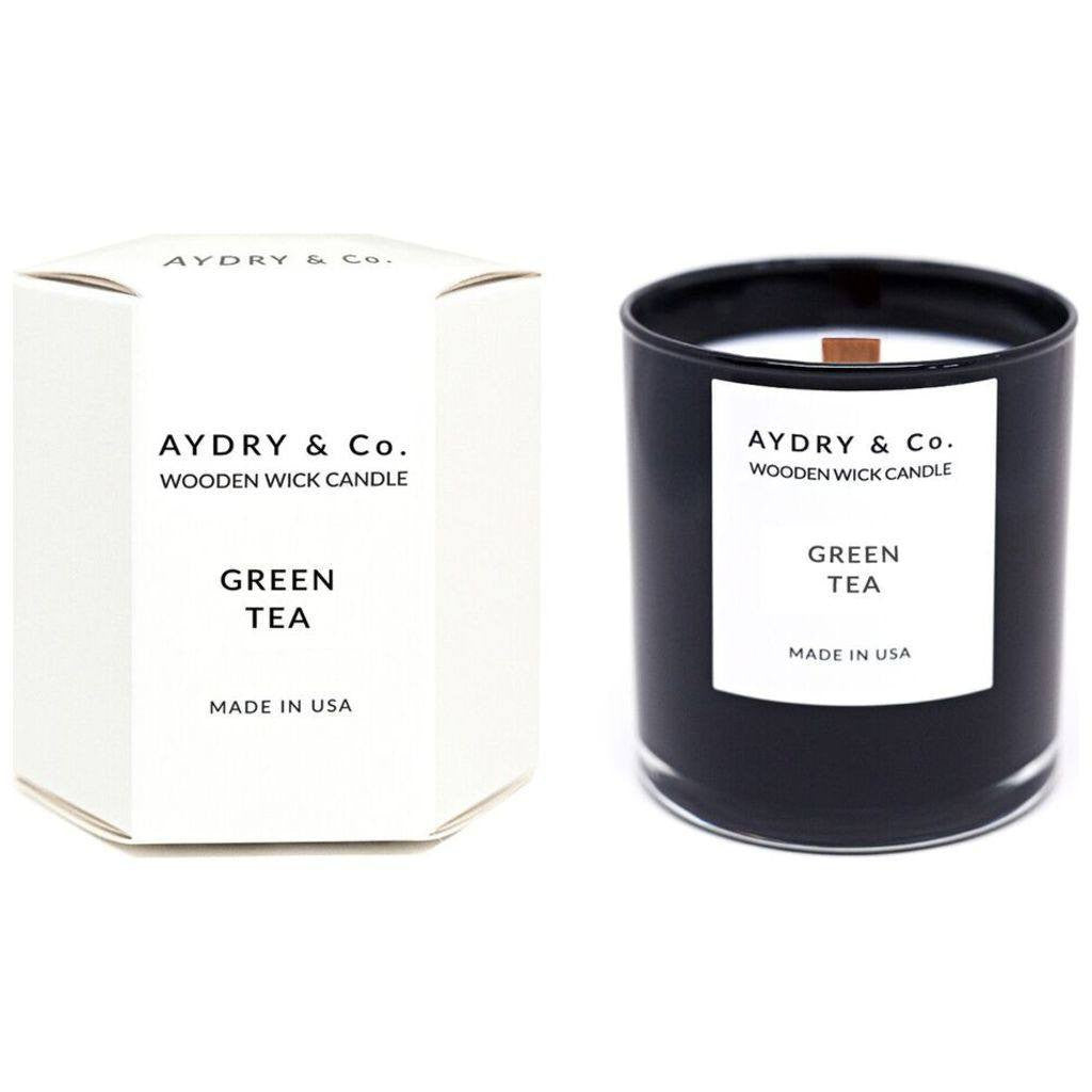 AYDRY & Co. Wooden Wick Candle | Green Tea
