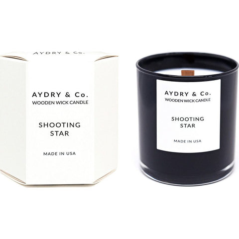 AYDRY & Co. Wooden Wick Candle | Shooting Star
