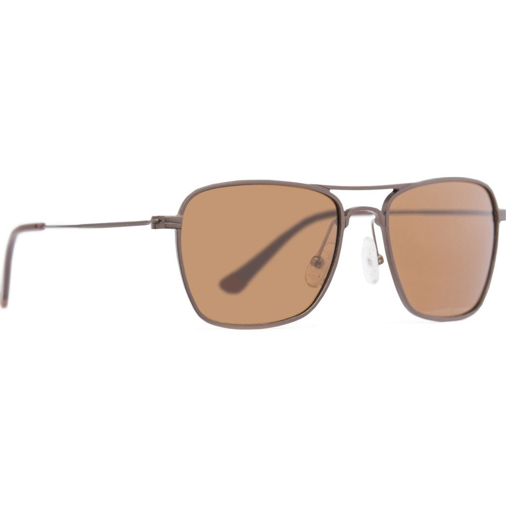 4bb6b95be1258 Proof Overland Aluminum Sunglasses Brown Brown Polarized - Sportique