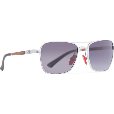Proof Overland Aluminum Sunglasses | Silver/Smoke Polarized ovdslvfade