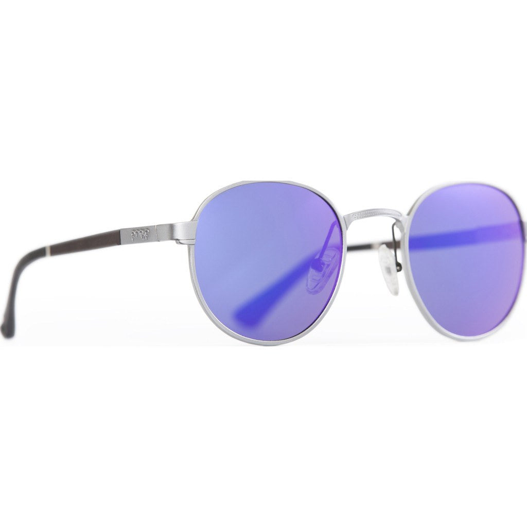 Proof Sundance Aluminum Sunglasses | Silver/Purple Mirror Polarized sunslvpurpol