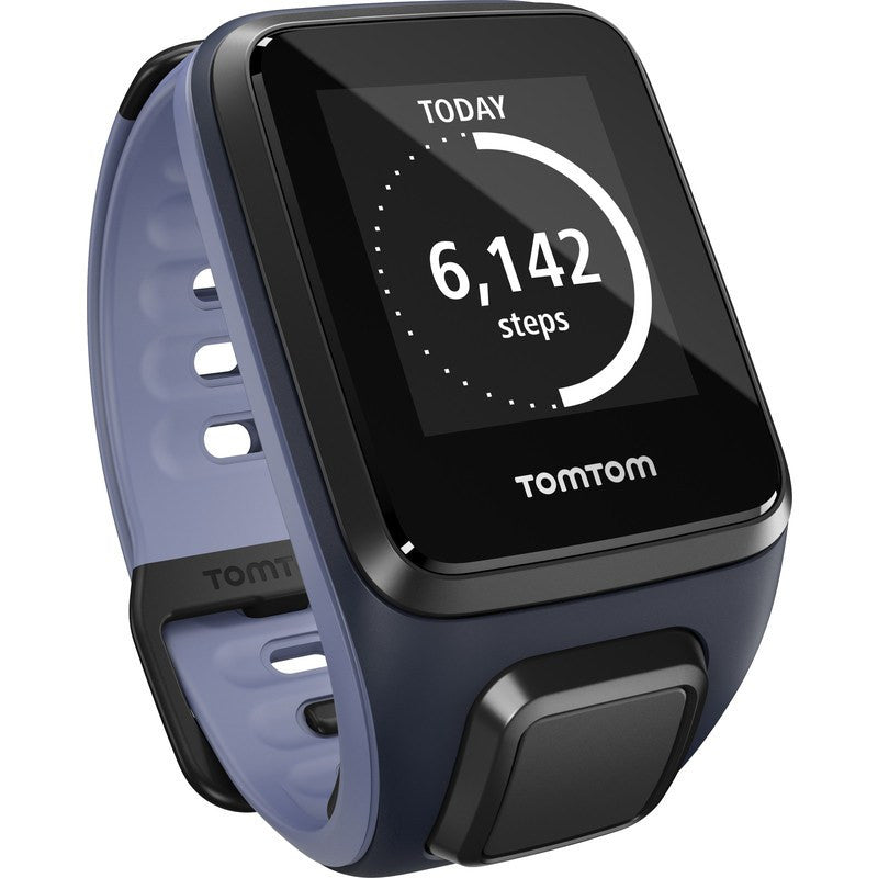 TomTom Spark Music + Cardio Small Watch | Sky Captain/Purple Haze 1RFM.002.09