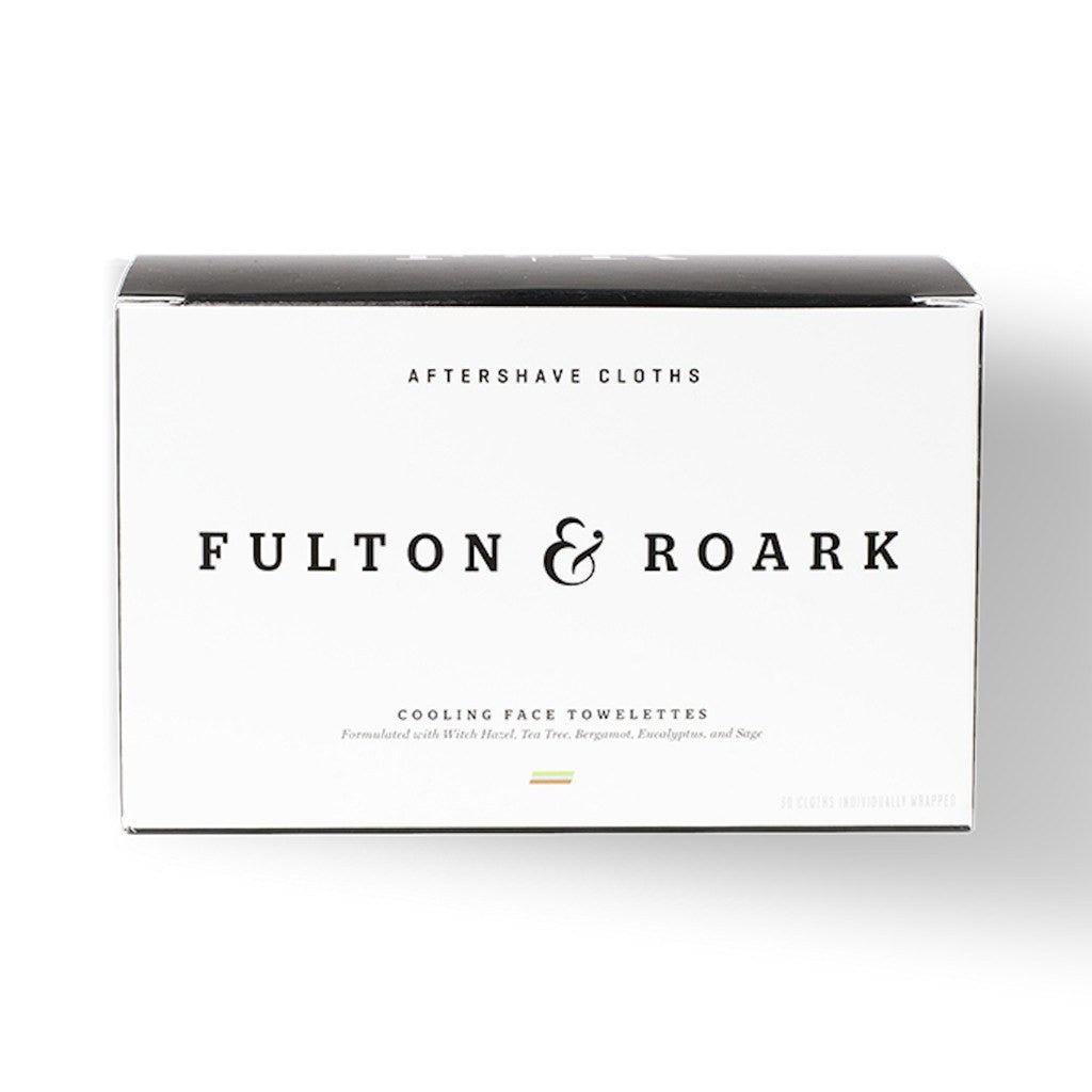 Fulton & Roark Aftershave Cloths | 30 Pack AFTSC01