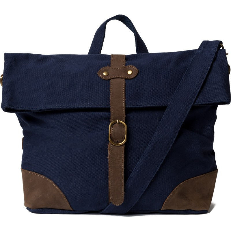 United By Blue Aidan Foldover Messenger Bag | Navy