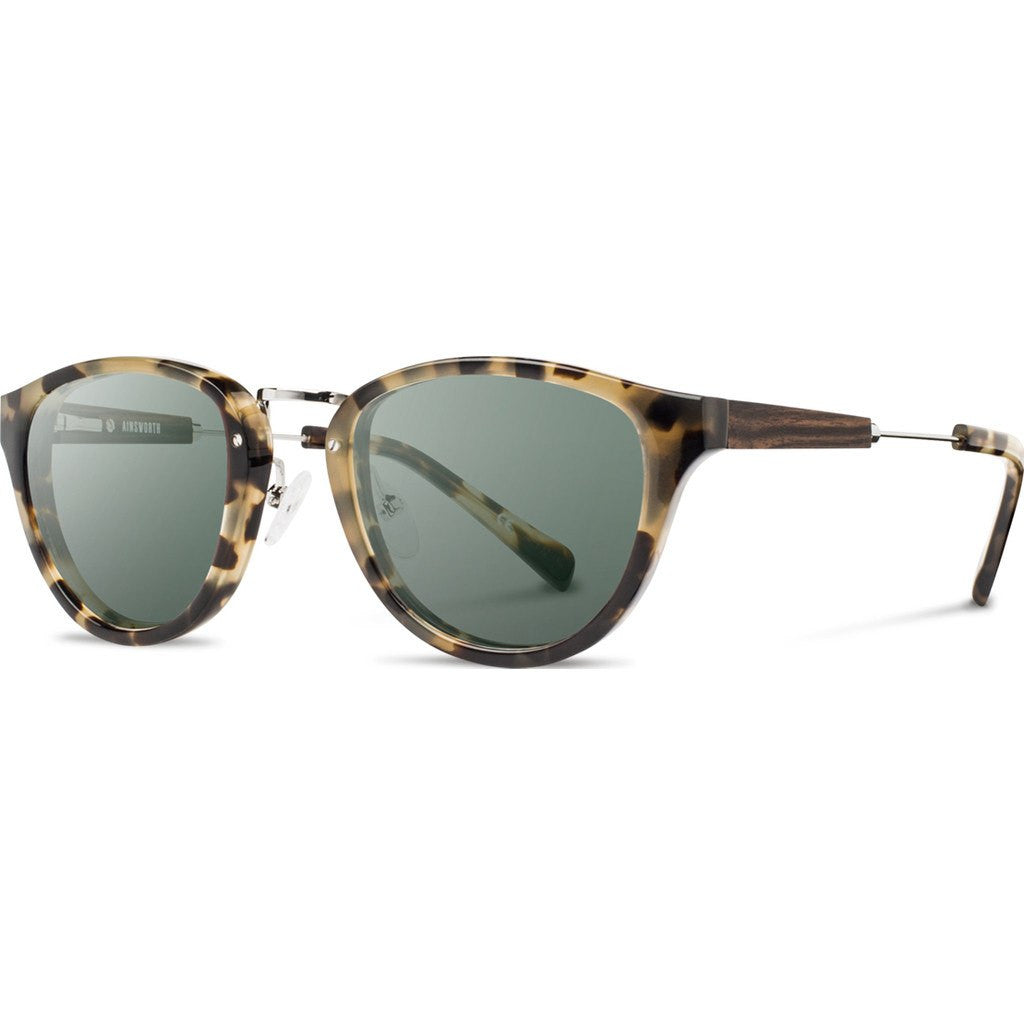 Shwood Ainsworth Acetate Sunglasses | Vintage Tortoise & Silver / G15 WAAVTF