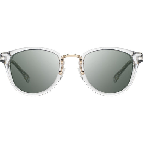 Shwood Ainsworth Acetate Sunglasses | Crystal & Gold - G15 WAAC2F