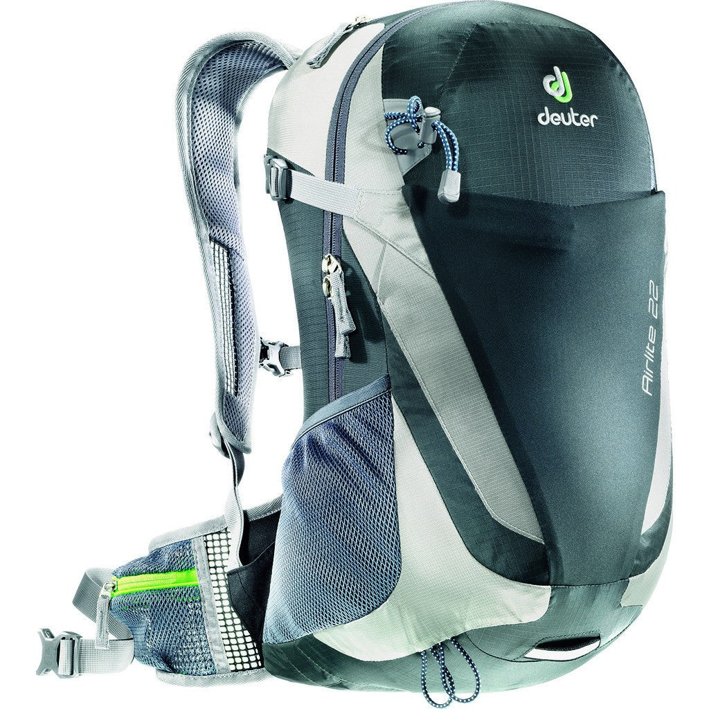 Deuter Airlite 22L Hiking Backpack | Granite/Silver 4420315 44000