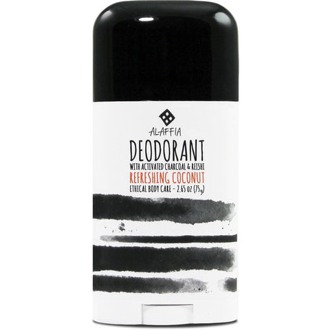 Alaffia Coconut Reishi Activated Coconut Deodorant | 2.65 oz. S433