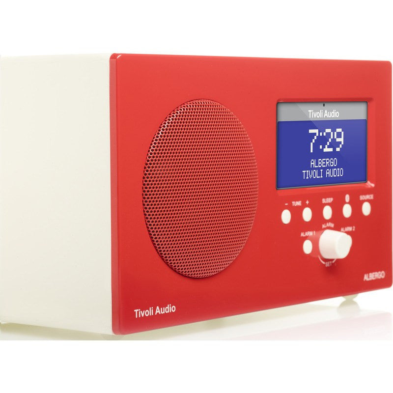 Tivoli Audio Albergo Speaker Radio | Red ALBGRD