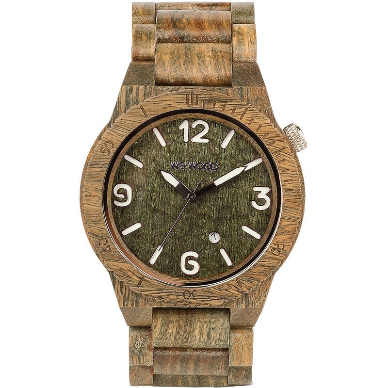 WeWood Alpha Guaiaco Wood Watch | Army