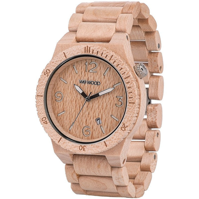 WeWood Alpha Maple Wood Watch | Beige