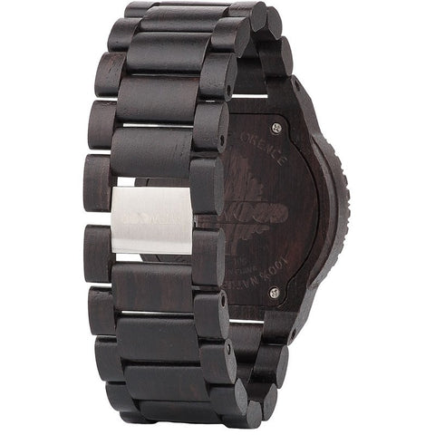 WeWood Alpha Blackwood Wood Watch | Black