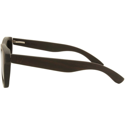 Woodzee Alpine Guibourtis Wood Sunglasses | Blue