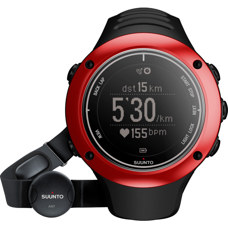 Suunto Ambit 2S Sport Watch | Red SS019211000