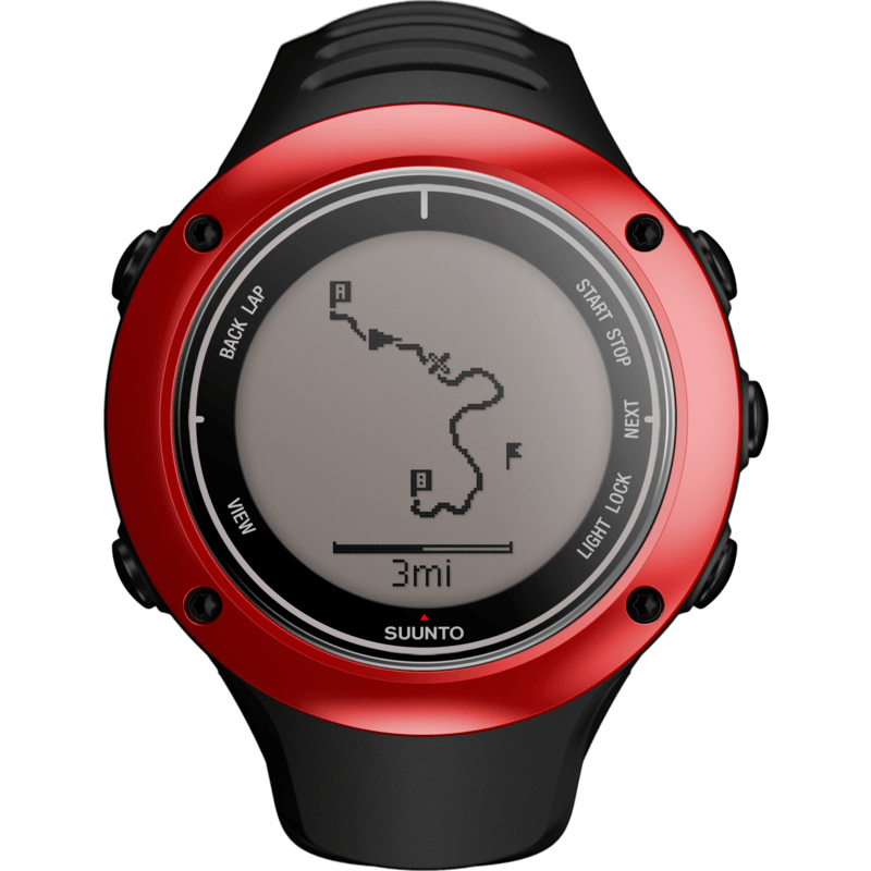 Suunto Ambit2 S GPS And HRM Training Watch | Red SS019209000