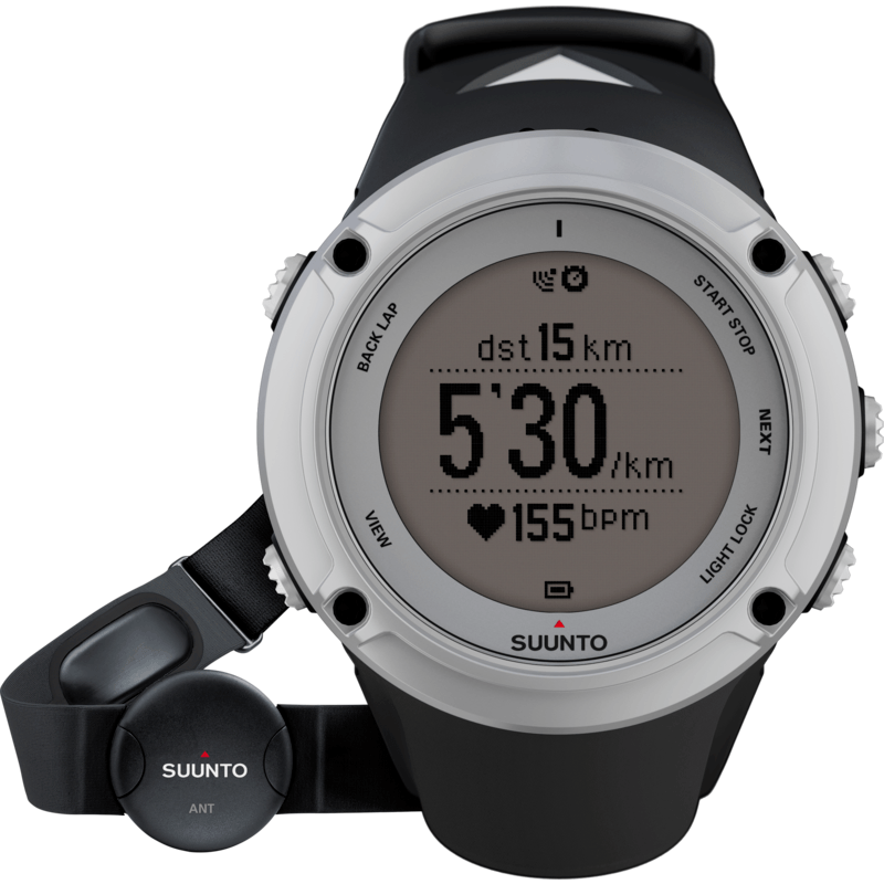 Suunto Ambit2 HR Watch | Silver SS019651000