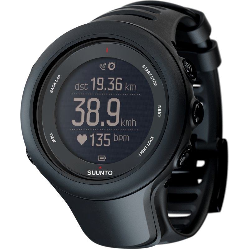 Suunto Ambit3 Sports HR Watch | Black SS020678000