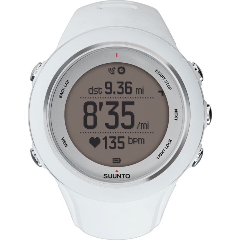 Suunto Ambit3 Sport GPS Heart Rate Monitor | White SS020680000