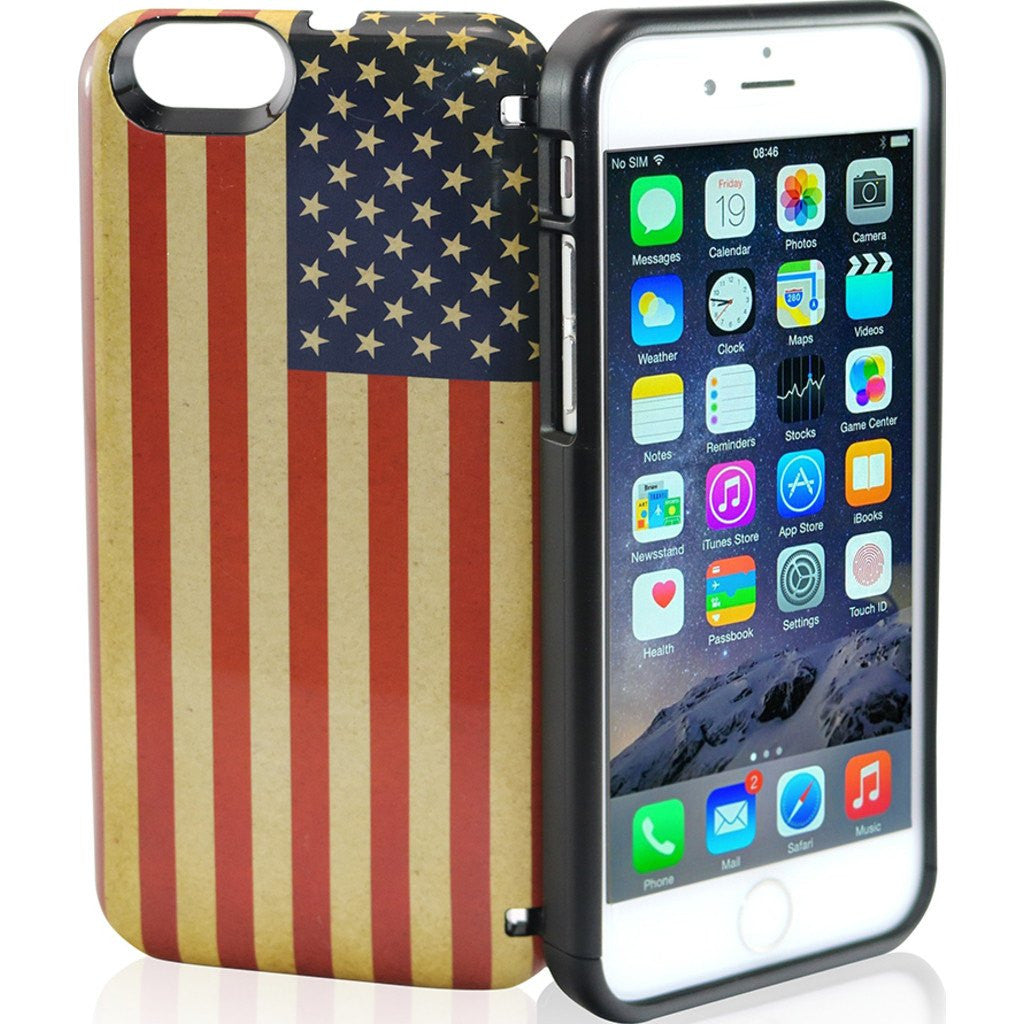 EYN iPhone 6/6s Wallet Case | American Flag