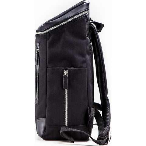 Venque Amsterdam Leather Backpack | Black 6103
