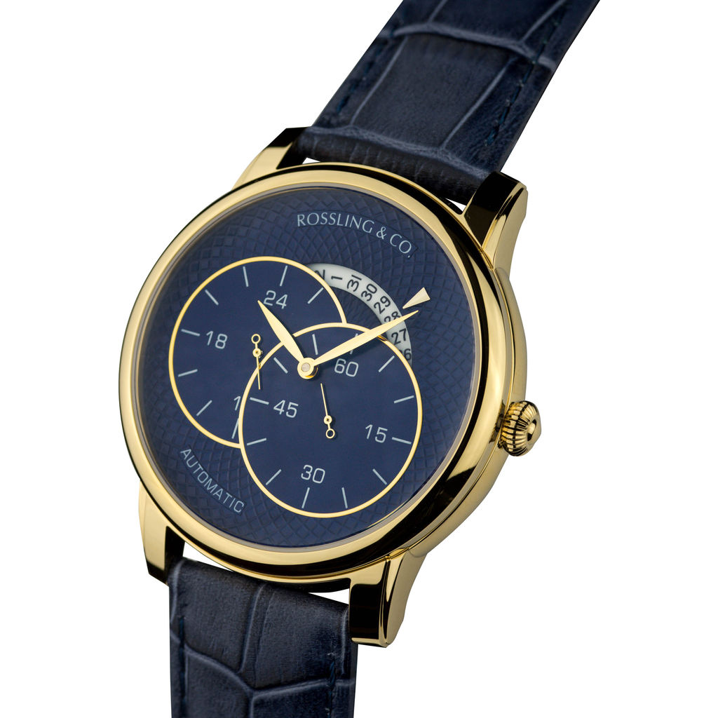 Rossling & Co. Strasse Automatic Watch |  Gold
