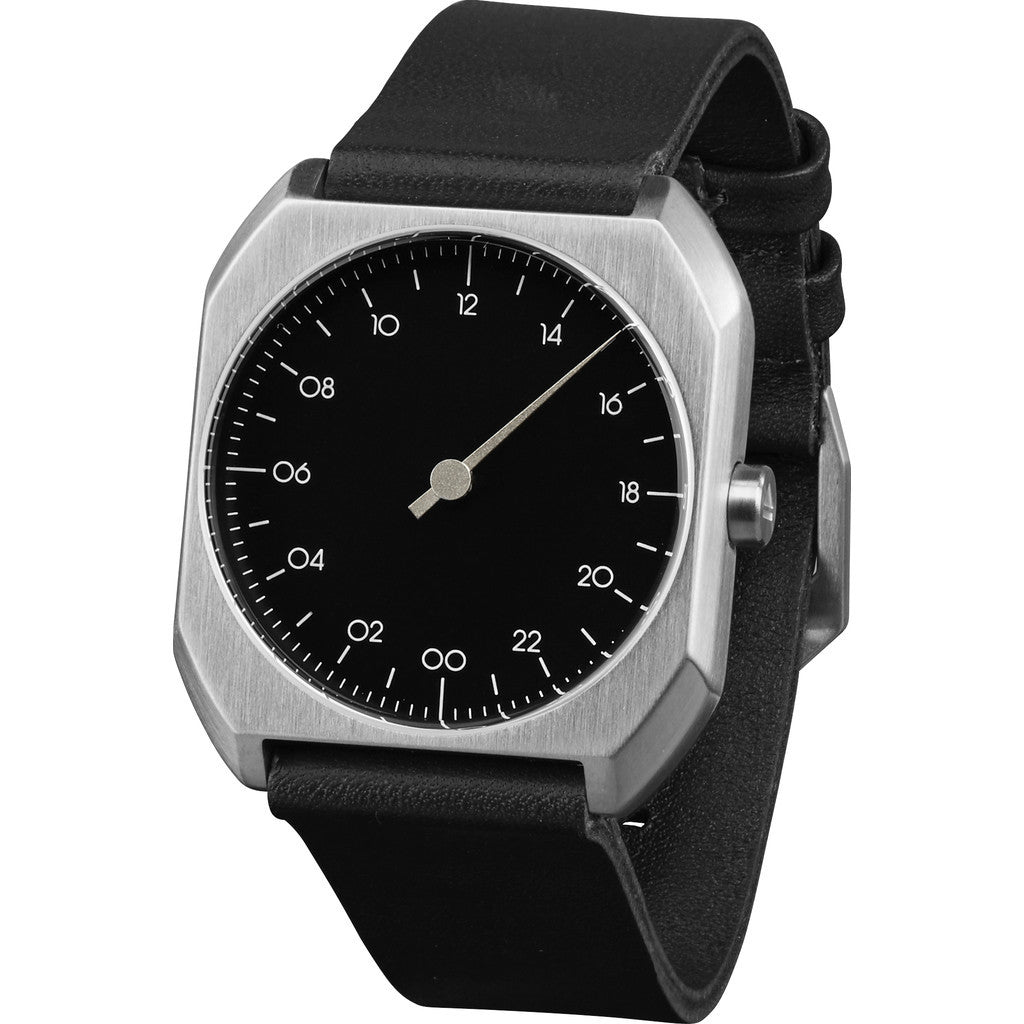 slow Mo 06 Black Watch | Black Leather X000OQTUN9
