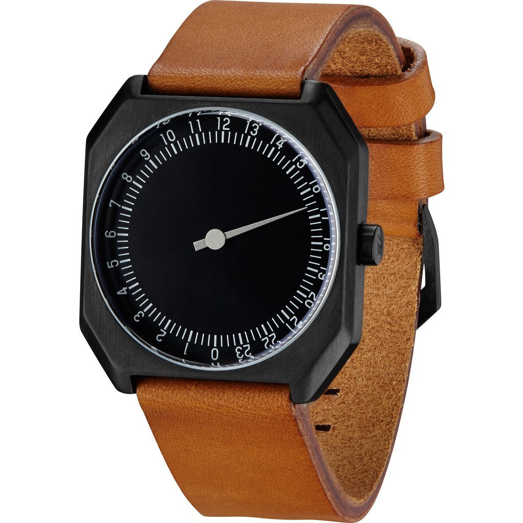 slow Jo 19 Black Watch | Brown Vintage Leather X000JADHE3