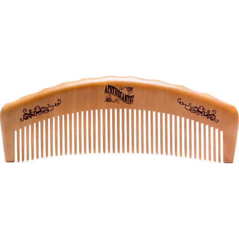 Apothecary 87 The Man Club Barber Comb | Wooden