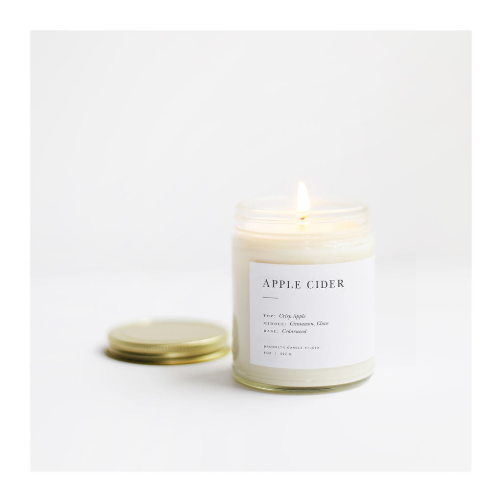 Brooklyn Candle Studio Minimalist Candle | Apple Cider