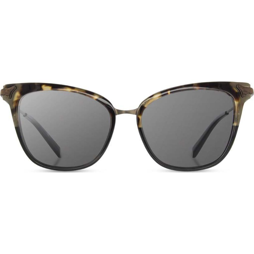 Shwood Arlene Sunglasses | Olive Black/Gunmetal -Grey Polarized  WWAA2OBGP