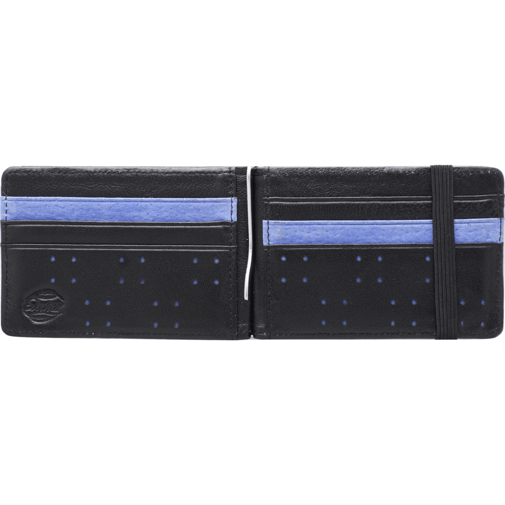 Orchill Armada Bi-Fold Money Clip Wallet | Black/Blue