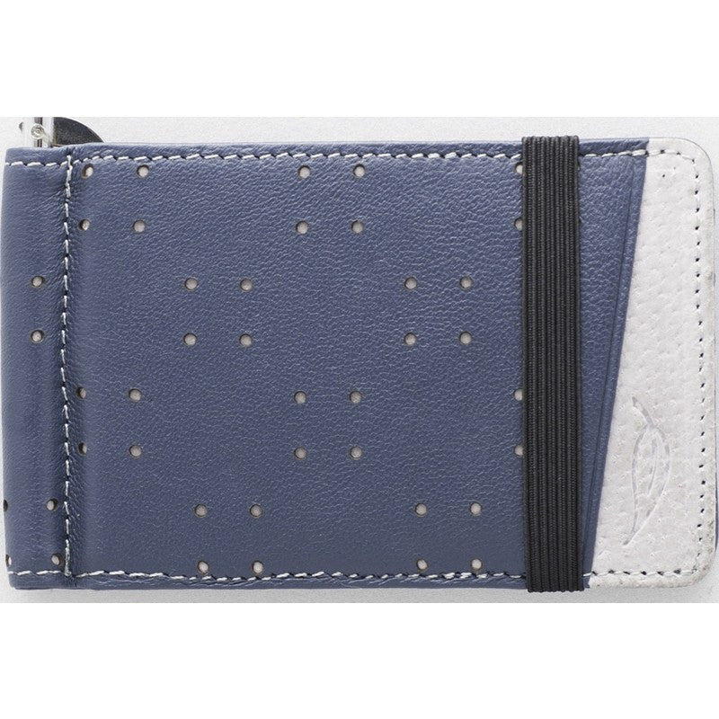 Orchill Armada Bi-Fold Retractable Money Clip Wallet | Navy