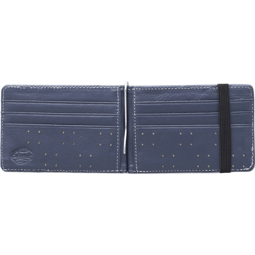 Orchill Armada Bi-Fold Money Clip Wallet | Navy