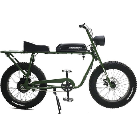 Super73 S1 Rugged Ubran Crusier Electric Motorbike | Army Green