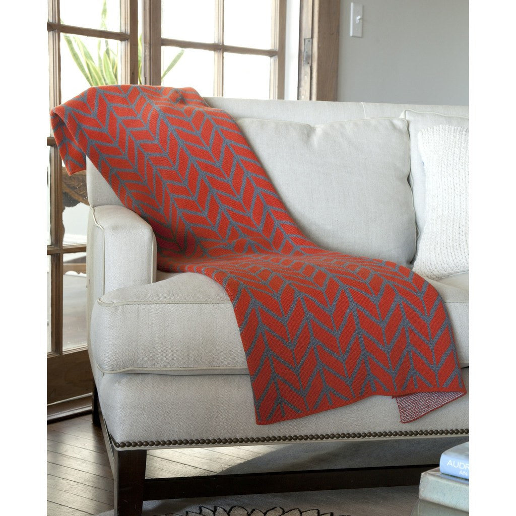 in2green Arrow Eco Throw | Spice/Smoke BL01AW4