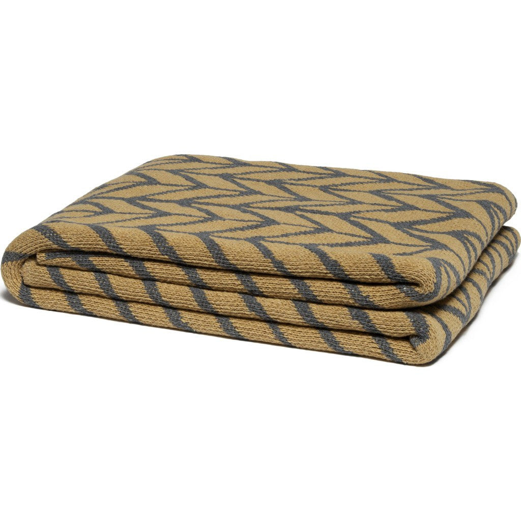 in2green Arrow Eco Throw | Smoke/Straw BL01AW6
