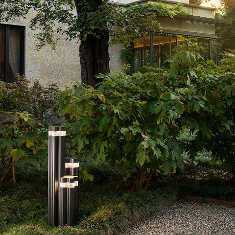 Artemide Logico Garden Outdoor Floor Lamp | Anthracite Gray