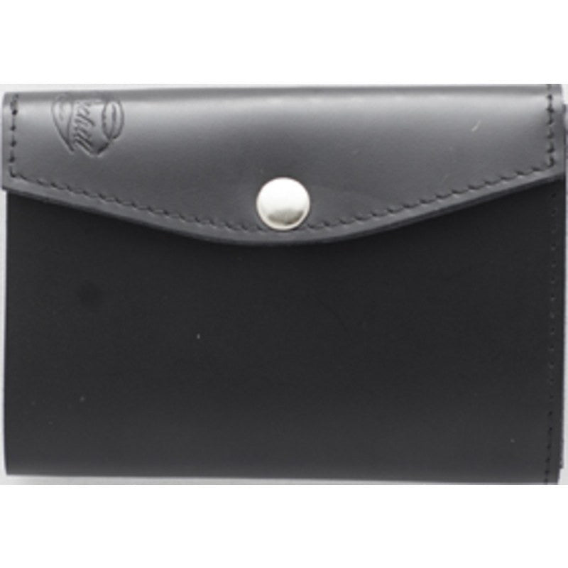 Orchill Artisan Tri-Fold Snap Closure Wallet | Black