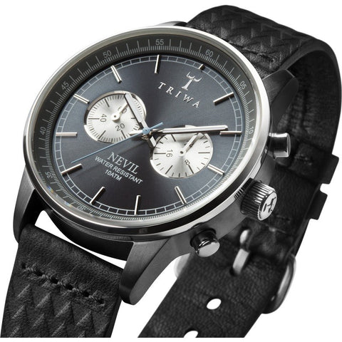 Triwa Ash Nevil Watch | Black Giza Classic