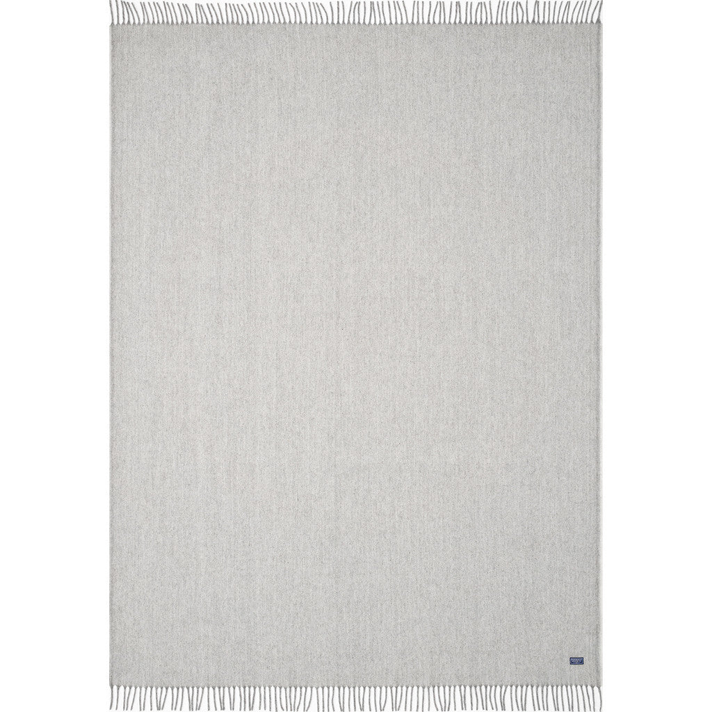 "Faribault Ashby Twill Wool Throw | Natural 16613 50"" x 72"""