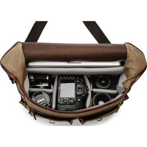ONA Astoria Camera Messenger Bag | Field Tan ONA5-020RT